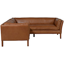 Buy Halo Groucho Small Leather Corner Unit Online at johnlewis.com