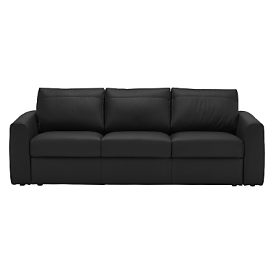 House by John Lewis Finlay II Grand Leather Sofa