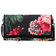 Buy Cath Kidston Bloomsbury Bouquet Bar Clutch Bag, Black Online at johnlewis.com