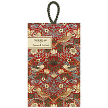 Buy Heathcote & Ivory Morris & Co Strawberry Thief Scented Sachet Online at johnlewis.com