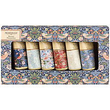 Buy Heathcote & Ivory Morris & Co Strawberry Thief Beauty Necessities Gift Set Online at johnlewis.com