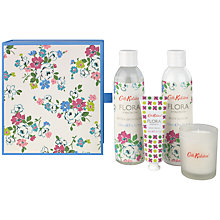 Buy Cath Kidston Flora Blue Hyacinth Indulgent Bathing Set Online at johnlewis.com