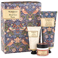 Buy Heathcote & Ivory Morris & Co Strawberry Thief Hand Care Treats Gift Set Online at johnlewis.com