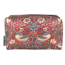 Buy Heathcote & Ivory Strawberry Thief Cosmetics Bag Online at johnlewis.com