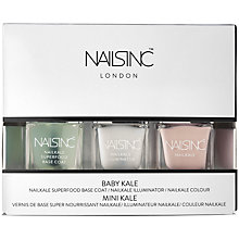 Buy Nails Inc. Nailkale Polish Baby Kale Collection, 3 x 5ml Online at johnlewis.com