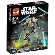 Buy LEGO Star Wars General Grievous Online at johnlewis.com