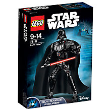 Buy LEGO Star Wars Darth Vadar Online at johnlewis.com
