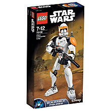 Buy LEGO Star Wars Clone Commander Cody Online at johnlewis.com