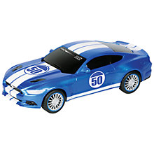 Buy Nikko Ford Mustang GT 1:20 Remote Control Car, Blue Online at johnlewis.com