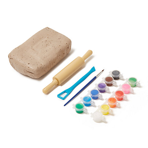 buy john lewis paint your own pottery set john lewis. Black Bedroom Furniture Sets. Home Design Ideas