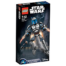 Buy LEGO Star Wars Jango Fett Online at johnlewis.com