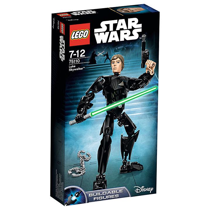 Buy LEGO Star Wars Luke Skywalker Online at johnlewis.com