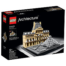 Buy LEGO Architecture Louvre Online at johnlewis.com