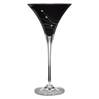 Dartington Crystal Glitz Noir Cocktail Glasses, Set of 2