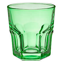 Buy House by John Lewis Tumbler, Forest Green Online at johnlewis.com