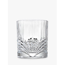 Buy John Lewis Plume Crystal Glass Tumbler Online at johnlewis.com