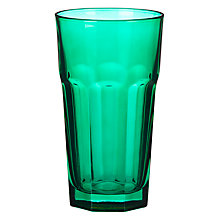 Buy House by John Lewis Milkshake Tumbler, Forest Green Online at johnlewis.com