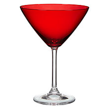 Buy John Lewis Red Cocktail Glass Online at johnlewis.com