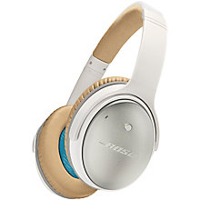 Buy Bose® QuietComfort® Noise Cancelling® QC25 Over-Ear Headphones for Android/ Samsung Devices Online at johnlewis.com