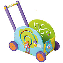 Buy Boikido Push and Pull Rabbit Wagon Online at johnlewis.com