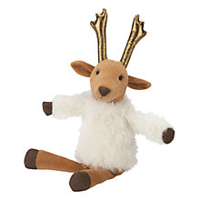 Buy Jellycat Baby's Divine Reindeer Christmas Soft Toy Online at johnlewis.com
