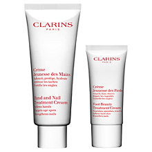 Buy Clarins Hands & Feet Treatment Set Online at johnlewis.com