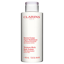 Buy Clarins Moisture Rich Body Lotion, 400ml Online at johnlewis.com