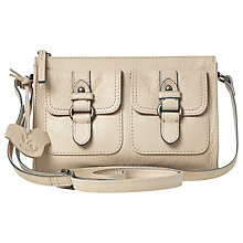 Buy White Stuff Heritage Cross Body Bag, Bone Online at johnlewis.com