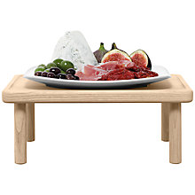 Buy LSA International Stilt Serving Platter & Stand, L30cm Online at johnlewis.com