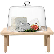 Buy LSA International Stilt Cheese Dome & Ash Stand Online at johnlewis.com