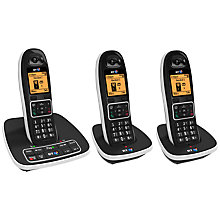 Buy BT7600 Digital Cordless Phone with Answering Machine and Nuisance Call Blocking, Trio Online at johnlewis.com