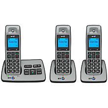 Buy BT 2500 Digital Cordless Phone with Answering Machine, Trio Online at johnlewis.com