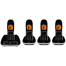 Buy BT 7600 Digital Cordless Phone with Answering Machine and Nuisance Call Blocking, Quad Online at johnlewis.com