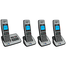 Buy BT 2500 Digital Cordless Phone with Answering Machine, Quad Online at johnlewis.com