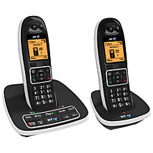 Buy BT 7600 Digital Cordless Phone with Answering Machine and Nuisance Call Blocking, Twin Online at johnlewis.com
