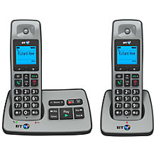 Buy BT 2500 Digital Cordless Phone with Answering Machine, Twin Online at johnlewis.com