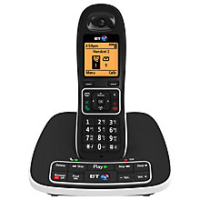 Buy BT 7600 Digital Cordless Phone with Answering Machine and Nuisance Call Blocking, Single Online at johnlewis.com