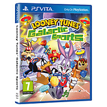 Buy Looney Tunes: Galatic Sport, PS Vita Online at johnlewis.com