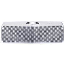 Buy LG Music Flow P7 Portable Bluetooth Speaker, White with FREE Rubber Case, Orange Online at johnlewis.com