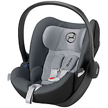 Buy Cybex Cloud Q Group 0+ Car Seat, Moondust Online at johnlewis.com
