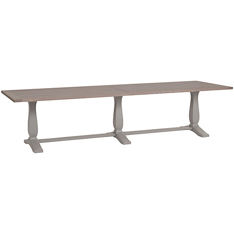 Buy Neptune Harrogate 310cm Oak Dining Table, Fog | John Lewis