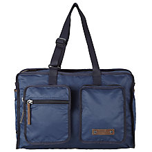 Buy BOSS Orange Rusty Weekender Bag, Navy Online at johnlewis.com