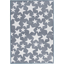 Buy Kit For Kids Star Baby Rug, Grey Online at johnlewis.com