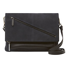 Buy Mint Velvet Crossbody Bag, Navy / Black Online at johnlewis.com
