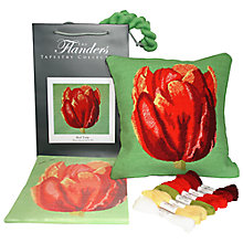 Buy The Flanders Tapestry Collection Red Tulip Tapestry Kit Online at johnlewis.com