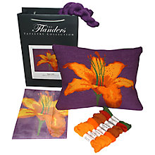 Buy The Flanders Tapestry Collection Tiger Lily Tapestry Kit Online at johnlewis.com