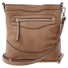 Buy Oasis Cross Body Bag, Camel Online at johnlewis.com