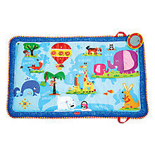 Buy Tiny Love Discover The World Activity Mat, Blue Online at johnlewis.com