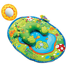 Buy Tiny Love Tummy-Time Frog Baby Playmat Online at johnlewis.com