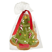 Buy Christmas Tree Gingerbread Biscuit Online at johnlewis.com